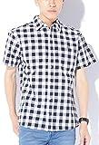 ブラックブロックチェック M (ベストマート)BestMart チェック ブロードシャツ メンズ 半袖 シャツ ブランド チェックシャツ チェック柄シャツ カジュアルシャツ オックスフォードシャツ ウエスタンシャツ ネルシャツ 半そで スリム S M L XL LL 620779-005-001