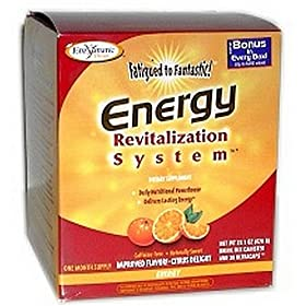 Enzymatic Therapy Fatigued To Fantastic Energy Enfusion & Energy B Complex, 19-Ounces And 30 Capsules