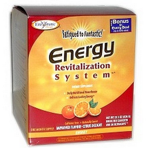 Enzymatic Therapy, Fatigued to Fantastic!, Energy Revitalization System, Berry Splash Flavor, 21.6 oz (615 g)