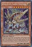 Yu-Gi-Oh! - Odd-Eyes Saber Dragon (YS15-ENF00) - Starter Deck: Saber Force - 1st Edition - Secret Rare