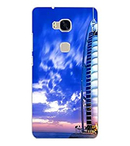 HUAWEI HONOR 5X BUILDING Back Cover by PRINTSWAG