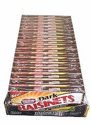 Nestle Dark Raisinets Movie Theatre Concession Size Candy (18 count)