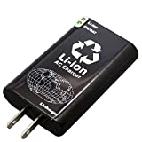 リンケージ  リチウムポリマー内蔵 AC充電器 1400mAh 海外対応 USB接続タイプ Dslite・PSP ブラック ACLK-40GA