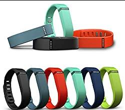 Fitbit Flex Wireless Activity Tracker and Sleep Wristband (Blue)