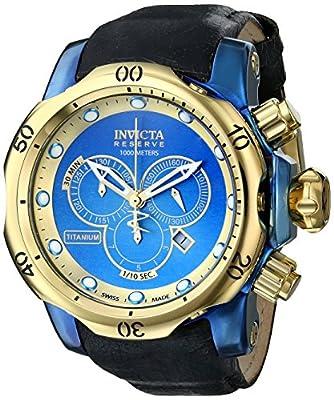 Invicta Men's 15998 Venom Analog Display Swiss Quartz Black Watch