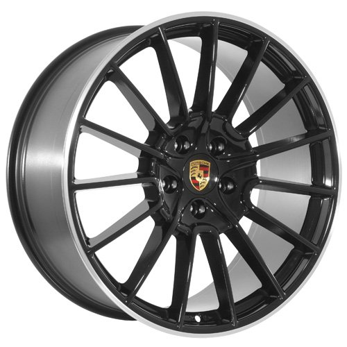 22 Inch POR Wheels Rims Black (set of 4)