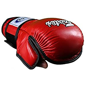 Fairtex MMA Gloves Ultimate Combat Gloves - FGV15 - RED