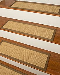 Sumatra Carpet Stair Treads 9-inch x 29-inch Use Indoor Perfect for Pets, Easy to Install, Set of 13 Durable, Protects Stairs, Reduces Risk of Slipping