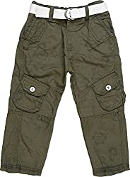 Addyvero Girl's 2 - 3 Years Solid Cargo (GL0056, Brown)