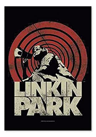 Linkin Park Flagge Loud & Clear - Posterflagge - Textilflagge