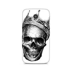 Mobicture Skull King Premium Printed Case For Moto X