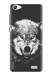 Noise Designer Printed Case / Cover for Intex Aqua Super / Patterns & Ethnic / Were wolf Design