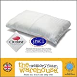 Traditional Memory Foam Cluster Pillow - 65cm x 36cm - Including FREE Outlast® Cover