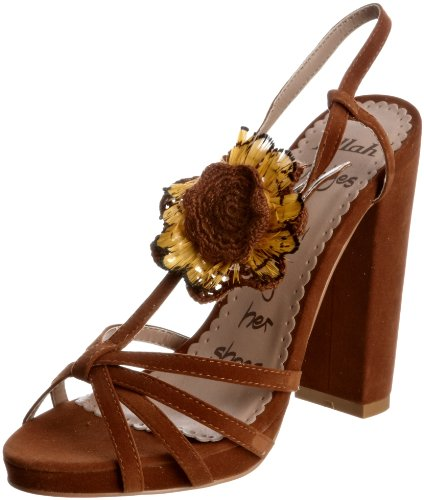 Killah Women's Laura Brown Ankle Strap M00781-MI9445-H05300 5 UK, 38 EU