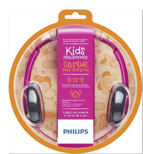 Philips Shk1000Pk/28 Kids On Ear Headphone