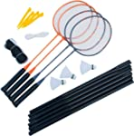 Ultrasport Set Badminton 4 giocatori