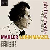 Mahler : Symphonies N°4, N°5 et N°6 / Lorin Maazel
