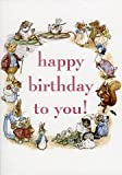 Happy Birthday To You! Beatrix Potter Greeting Card