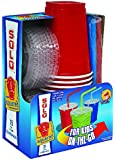 Solo 9 Oz Plastic Cup, Lid, & Straw Combo Pack, 15 Cups