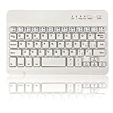 Skyblink White New Style Ultra Slim Multimedia Aluminum Wireless Bluetooth Keyboard For IOS Android PC For Windows For Ipad