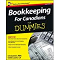 Bookkeeping For Canadians For Dummies ,by Epstein, Lita ( 2012 ) Paperback