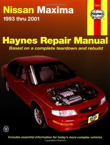 Nissan Maxima 1993 thru 2001 (Haynes Automotive Repair Manual) (Nissan Maxima For Sale compare prices)