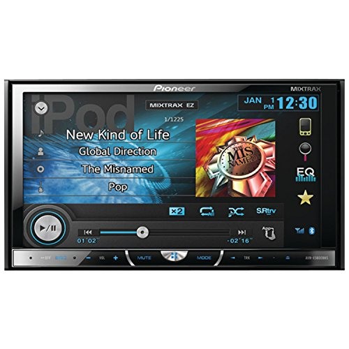 Pioneer AVH-X5600BHS 2-DIN Multimedia DVD Receiver with 7