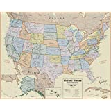 Waypoint Geographic Boardroom USA Wall Map (1:4.1 Scale)