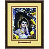Elegant Arts & Frames Murali Krishna Multicolour Print 14 X 11 Photo Frame