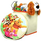 Disney Winnie the Pooh Kinderhocker mit Staufach - Kindersitz -