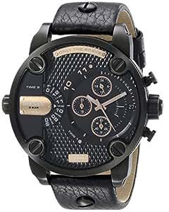 Amazon.com: Diesel Men's DZ7291 Little Daddy Analog Display Analog Quartz Black Watch: Diesel