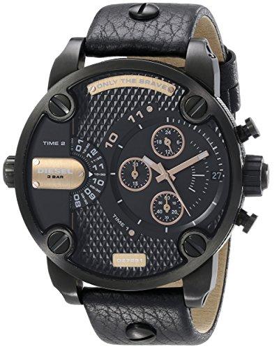 diesel-little-daddy-reloj-de-cuarzo-para-hombre-con-correa-de-cuero-color-negro