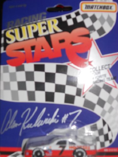 Matchbox Racing Super Stars # 7 Hooters Car Alan Kulwicki 1:64 1992 - 1