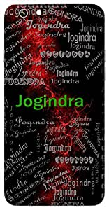 Jogindra (Lord Shiva) Name & Sign Printed All over customize & Personalized!! Protective back cover for your Smart Phone : Moto G-4