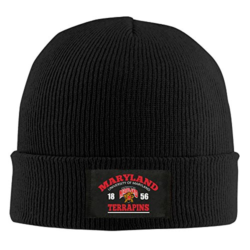 Amone University Of Maryland-Marylan Winter Knitting Wool Warm Hat Black (Power Rangers Flag compare prices)