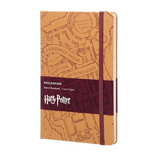 Harry Potter Carnet Grand Format Ligne Marauders'Map