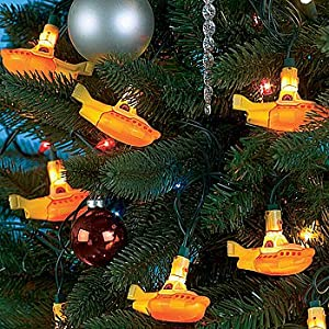 4 The Beatles Yellow Submarine Christmas Party Lights
