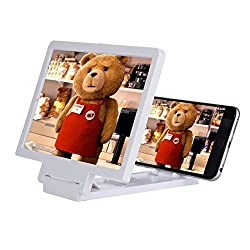 Santech Mobile Phone Analog 3D Video Folding Enlarged Screen Expander Stand FOR SONY Xperia C5 Ultra Dual