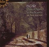 echange, troc  - Edward Elgar Quintette Pour Piano Op.84 & Sonate Pour Violon Op.82