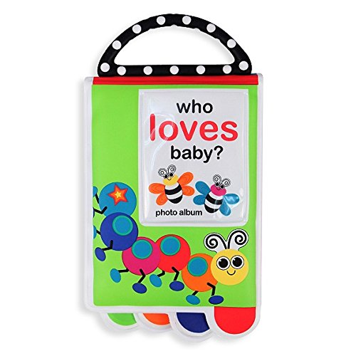 Sassy Who Loves Baby? Photo Album Book with Teether Handle - 1
