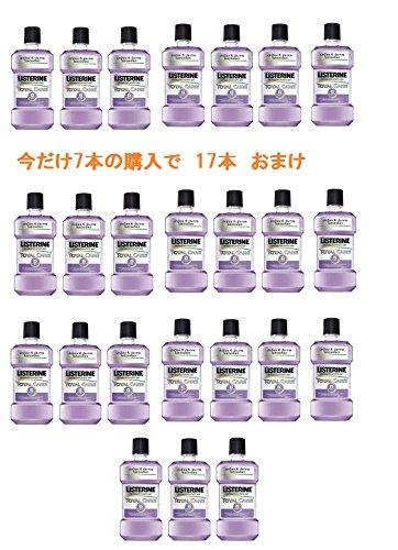 日本未入荷 リステリントータルケア250ml 7本プラス17本おまけ Listerine Total Care No6海外直送品・並行輸入品