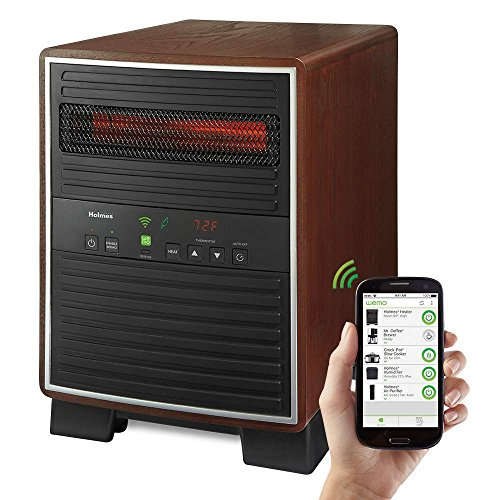 Holmes Smart Wifi-Enabled WeMo X-Large Heater, 1500 watts (Holmes Electric Space Heaters compare prices)