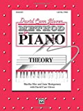 img - for David Carr Glover Method for Piano Theory: Level 2 book / textbook / text book