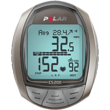 Cheap Polar CS200 cad Cycling Heart Rate Monitor (B003RZ703U)