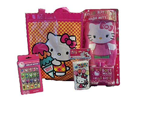 Hello-Kitty-Bath-and-Beauty-Gift-Set-with-Mini-Checkered-Tote-Bag