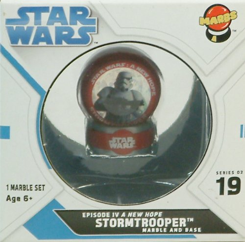 "Star Wars ""New Hope Stormtrooper"" Collectible Marble"