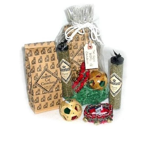Creature Comforts The Night Before Christmas Cat Gift Set front-721125