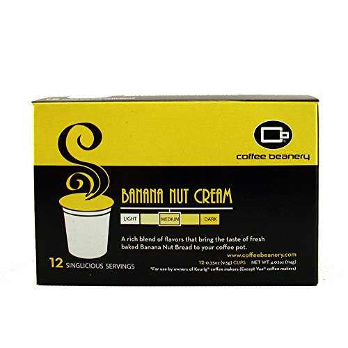 Banana Nut Cream Singlicious® Servings Single-cup Coffee Pack Sampler for Keurig K-cup Brewers (Cream Nut compare prices)