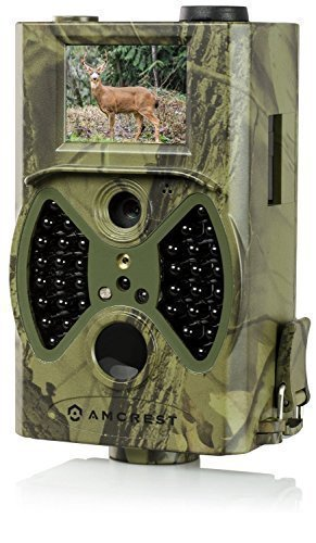 Amcrest-ATC-1201-12MP-Digital-Game-Cam-Trail-Camera-with-Integrated-2-LCD-Screen-Camo-Green