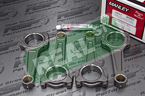 Manley Pro Series I-Beam Turbo Tuff Connecting Rods Honda B18C (Turbo Pro Series compare prices)